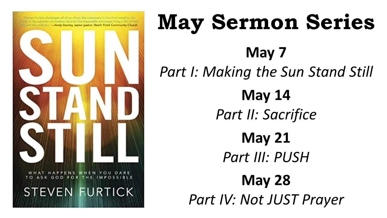 may sermon series ad - Centreville United Methodist Church